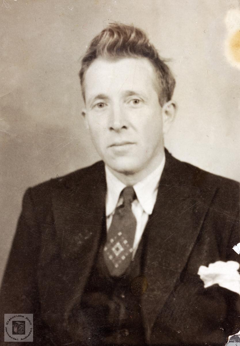 Portrett av Ånen Lislevand. Vegusdal Grindheim.