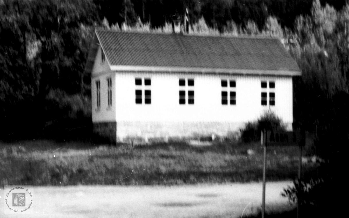 Skolehuset på Brusletta, Bjelland.