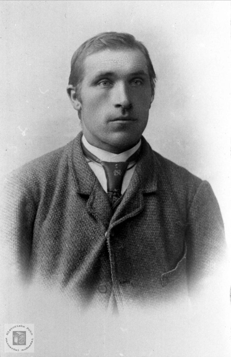 Portrett av Ole Abelseth, Bjelland.