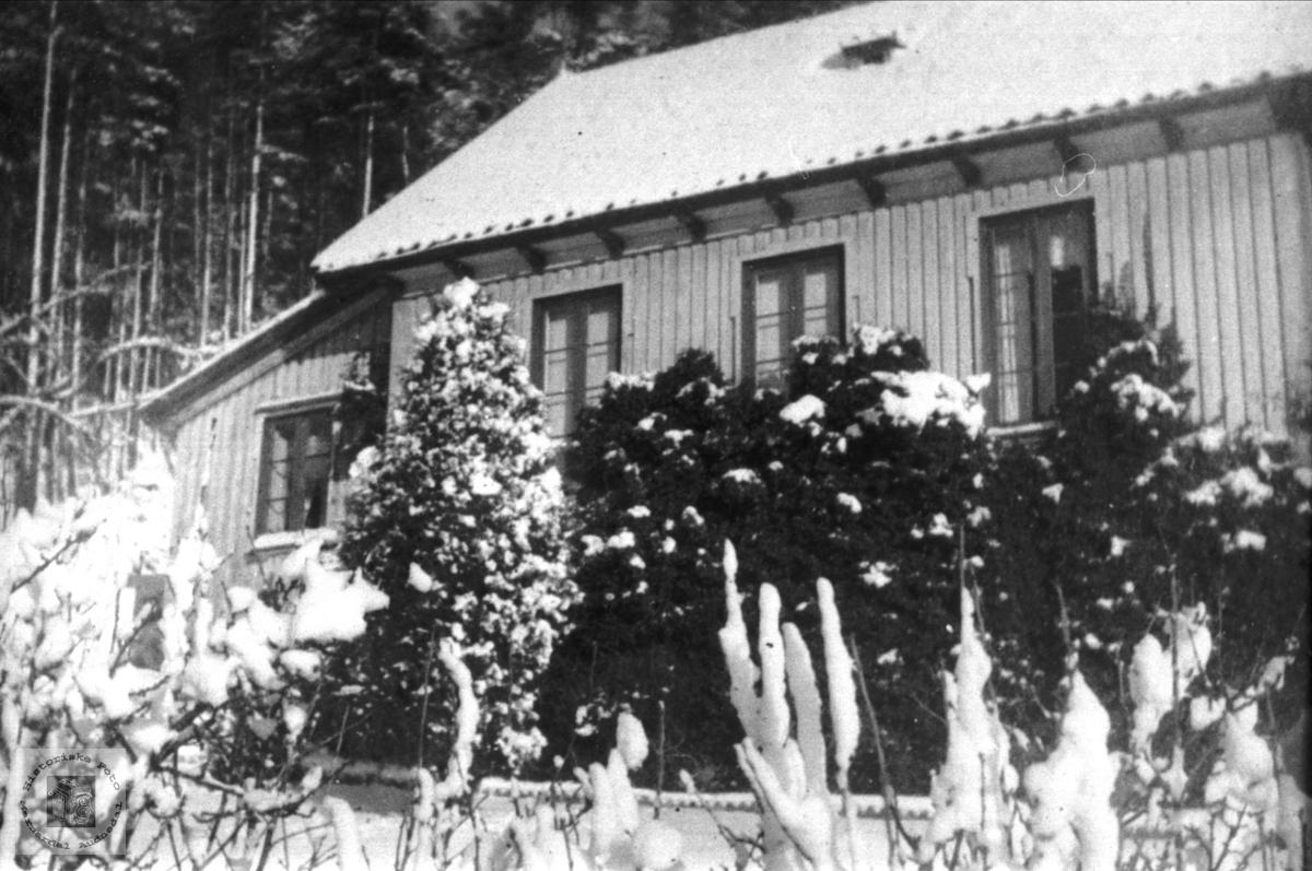 Barndomsheimen Sanden Ågedal i Bjelland senere Audnedal.