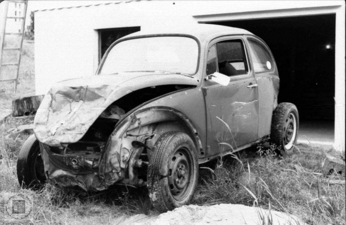 Kollisjonsskadd Volkswagen