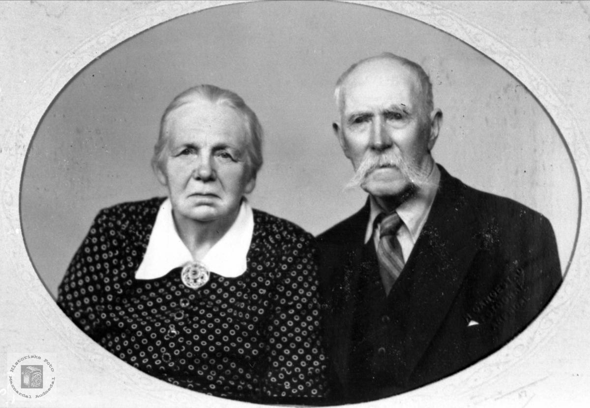Ekteparet Gunhild og Gunvald Ausland.