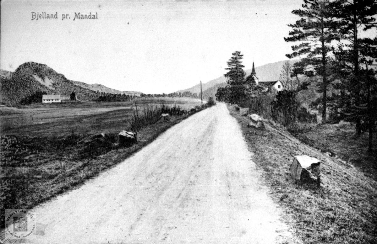 Bjelland før 1908.