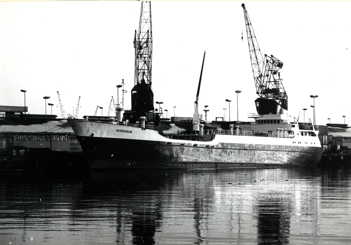 M/S Kviksholm (Ex. Dania)(b.1965, Hatlø Verksted A/S, Ulsteinvik)