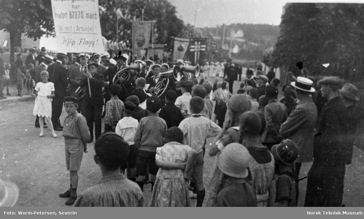 Parade, opptog for redningsselskapet
