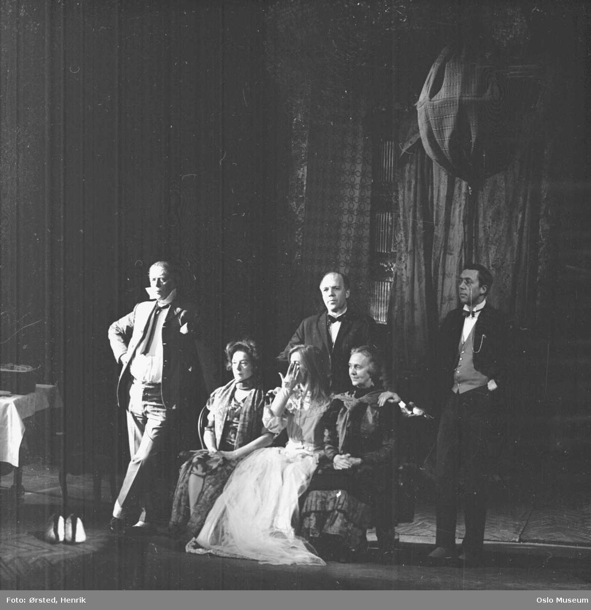 Det Norske Teatret, sceneprøve Tango, skuespillere