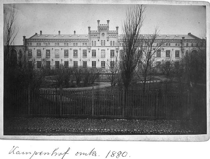 Kampenhofs bomullsspinneri och väveri, Uddevalla omkring 1880