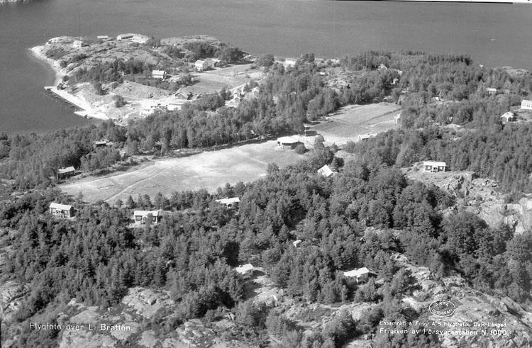 """Enligt AB Flygtrafik Bengtsfors: """"Brattön Bohuslän""""."""