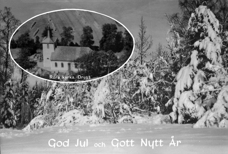 """Enligt AB Flygtrafik Bengtsfors: """"Röra kyrka, Orust"""".     ::"""