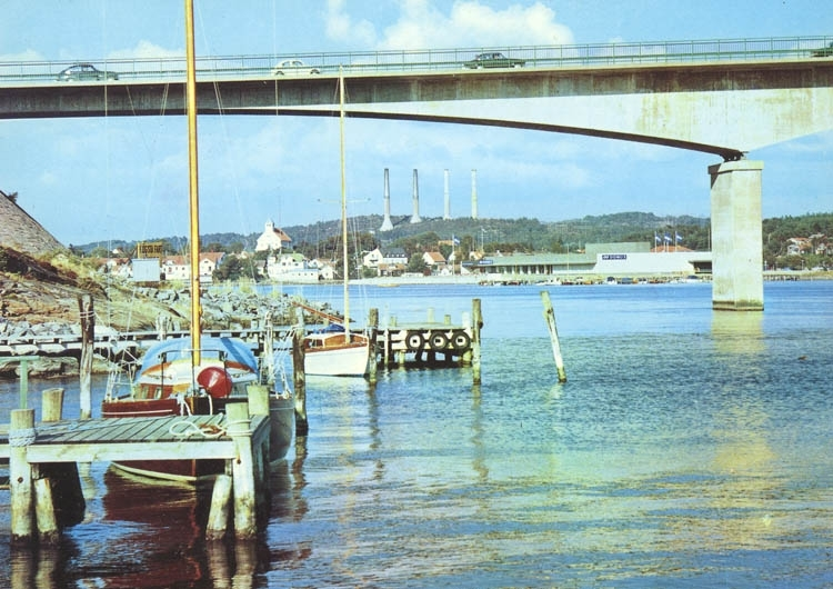"""""""Stenungsund: Vy från Stenungsön""""."""