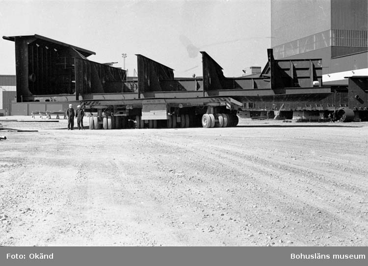 400 tons transportvagn, Uddevallavarvet