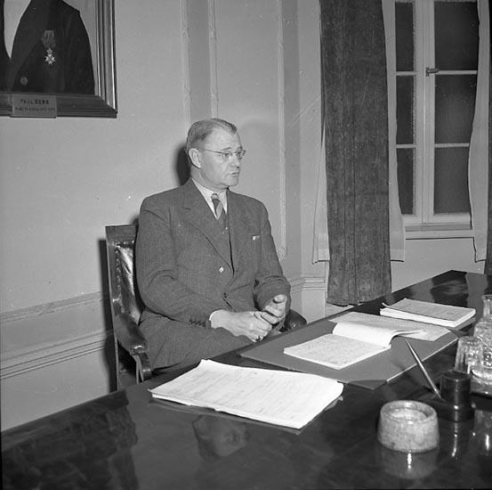 """Enligt notering: """"Luftskyddet 27/3 1947""""."""
