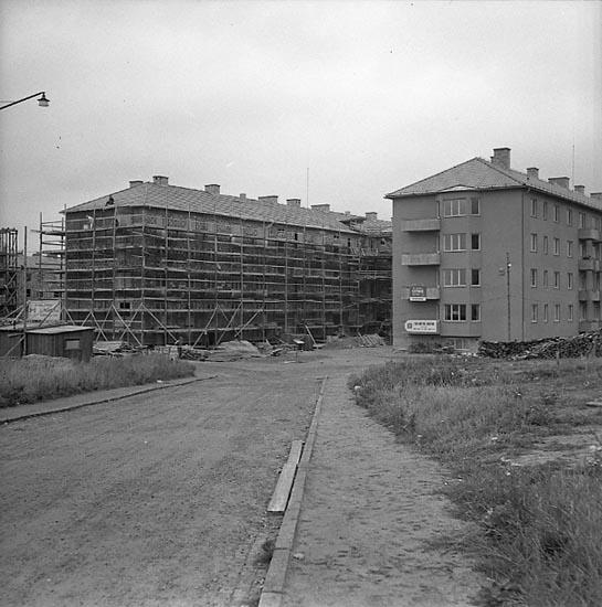 """Enligt notering: """"Byggen på Söder 18/9 1947""""."""