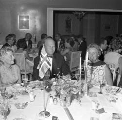 Middag till ära för dopet av M/S Björgfjell