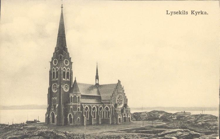 Lysekils nya kyrka.