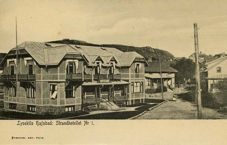 Lysekils Hafsbad: Strandhotell Nr 1.