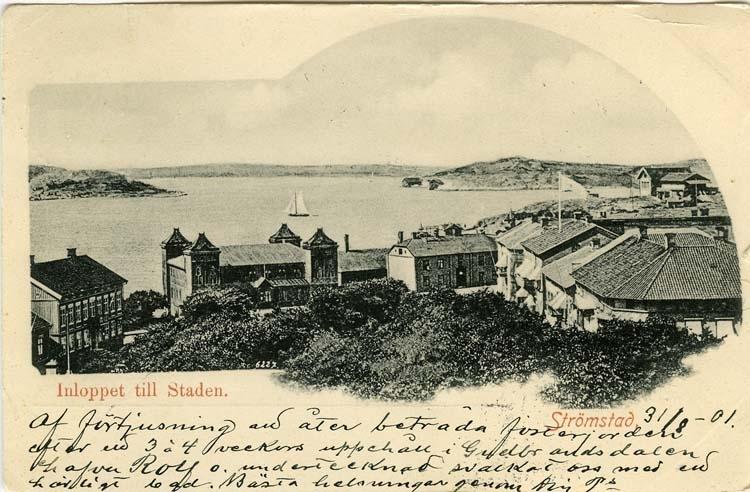 Inloppet till Staden Strömstad.