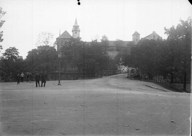 """Enligt text som medföljde bilden: """"Christiania. Akershus fästning 26/9-5/10 04."""""""