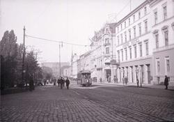 Karl Johan Gaden , Christiania 1904