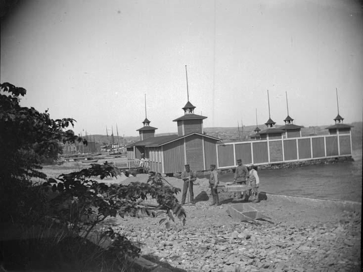 """""""Lysekil. Dambassinen från Curmans villa 1897"""""""