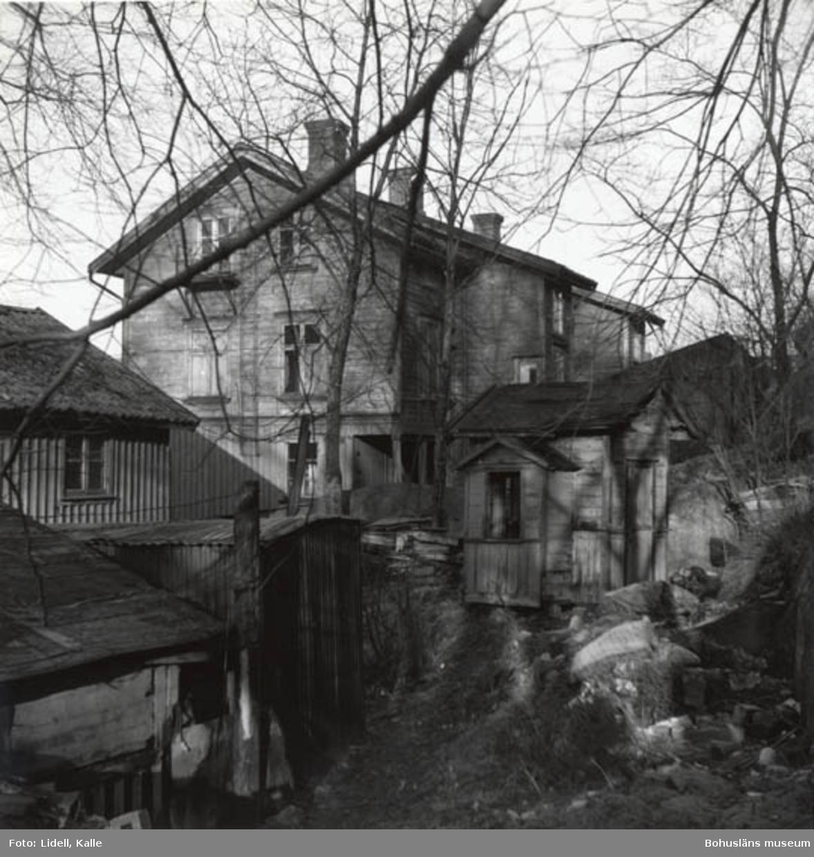 """Enligt fotografens bildlista: """"Samma hus taget mot norr""""."""