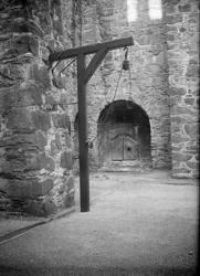 Galge på övre borggården, Carlstens fästning