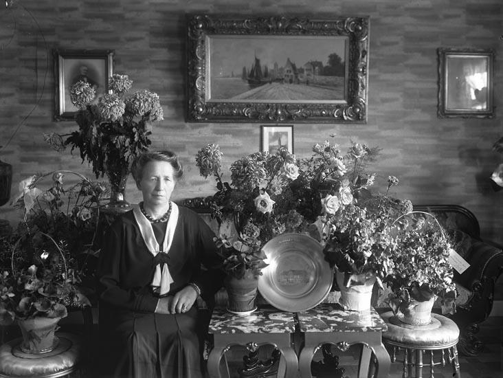 """1931. 115. Mathilda Hansson."" enligt medföljande text"