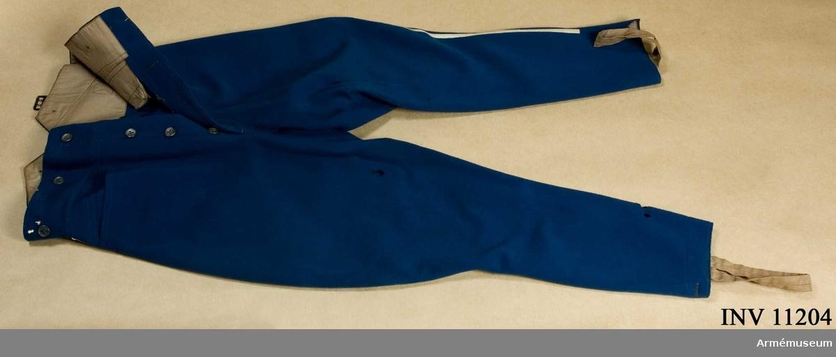 Klädesbyxor för ridning. Grupp C I.