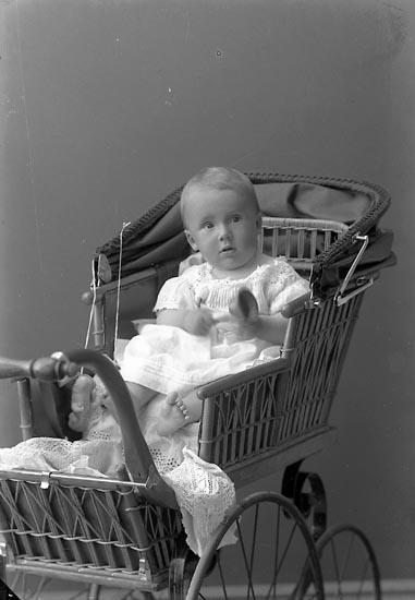 """Enligt fotografens journal nr 2 1909-1915: """"Nordin Fru Här""""."""