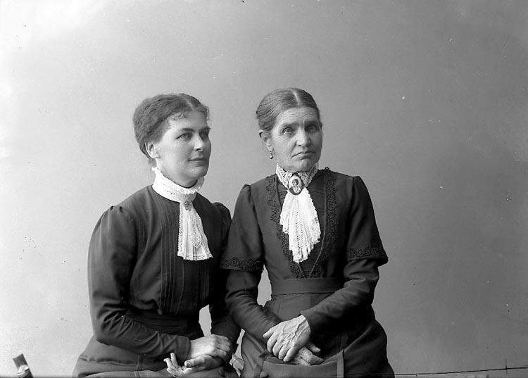 """Enligt fotografens journal nr 2 1919-1915: """"Landberg och Ehrnst, Här""""."""