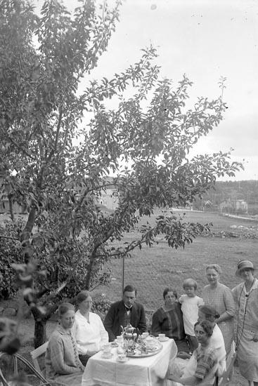 """Enligt fotografens journal nr 5 1923-1929: """"Enander, Melander, Bäfverfeldt, Walthén"""". Enligt fotografens notering: """"Enander, Melander, Walthén, Wallentin, Bäfverfeldt, Här""""."""