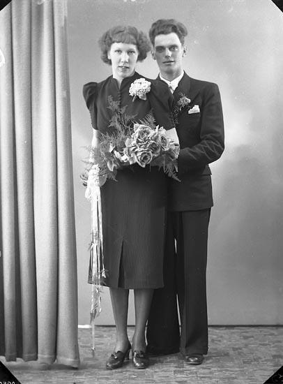 """Enligt fotografens journal nr 6 1930-1943: """"Andersson, Allan St. Höga""""."""