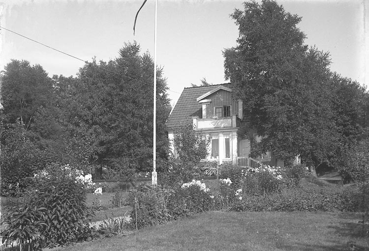 Disponent Armstedts villa i Stenungsund i juli 1934.