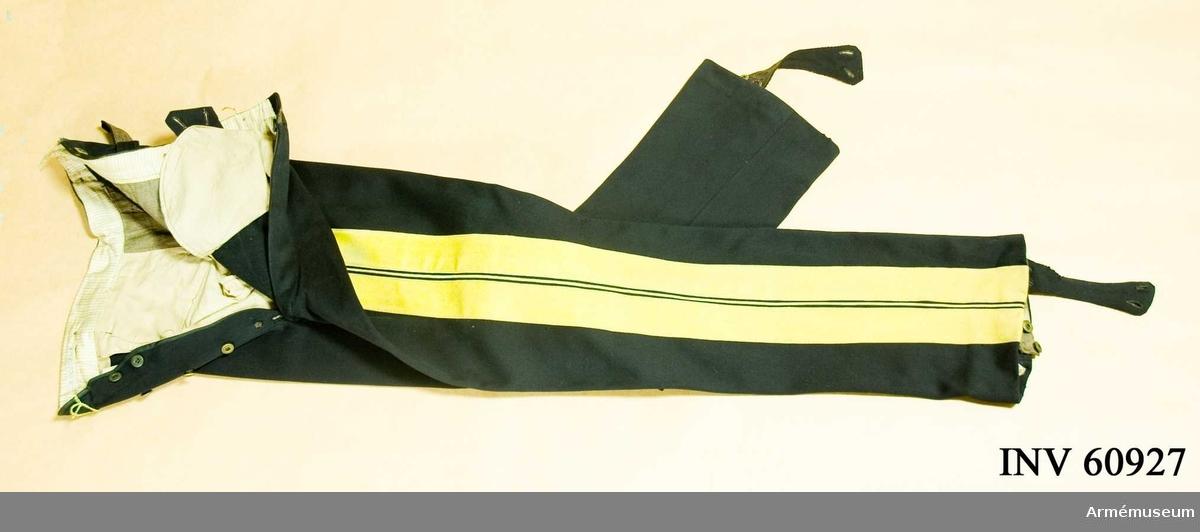 Grupp C I.  Ur uniform m/1886 för officer vid generalstaben (se samhörande).