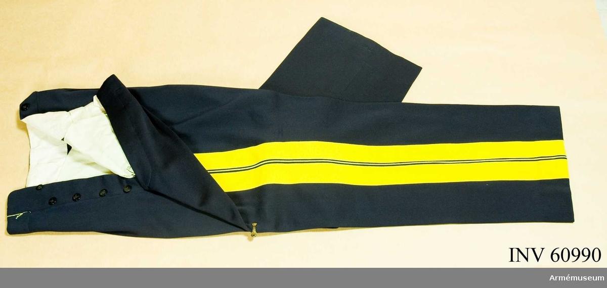 Grupp C I. Ur uniform för kapten vid generalstaben, se samhörande.