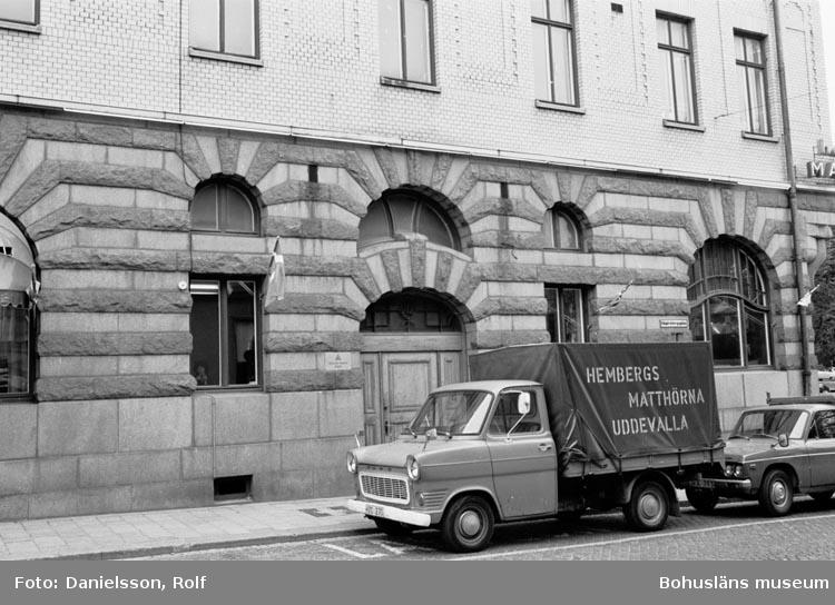 """Bohusläns samhälls- och näringsliv. 2. STENINDUSTRIN. Film: 59  Text som medföljde bilden: """"Uddevalla R.D.1979""""."""
