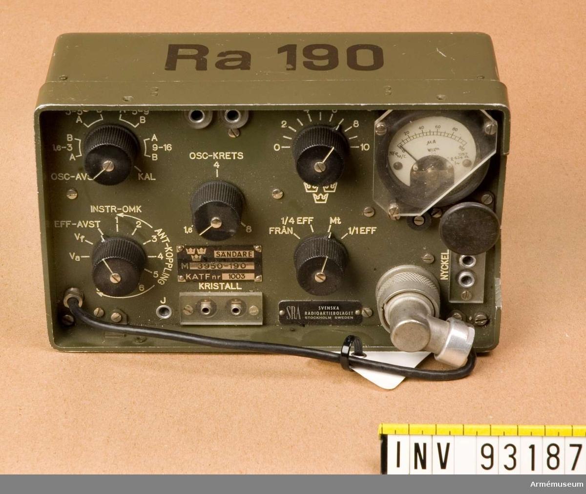 Sändare Ra190