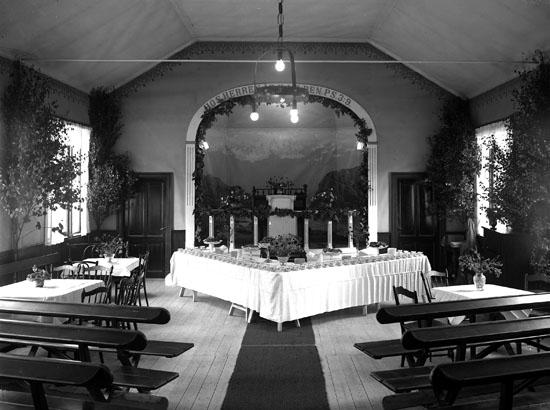 """Uppgift enligt fotografen: """"Uddevalla. Betelkapellet."""""""