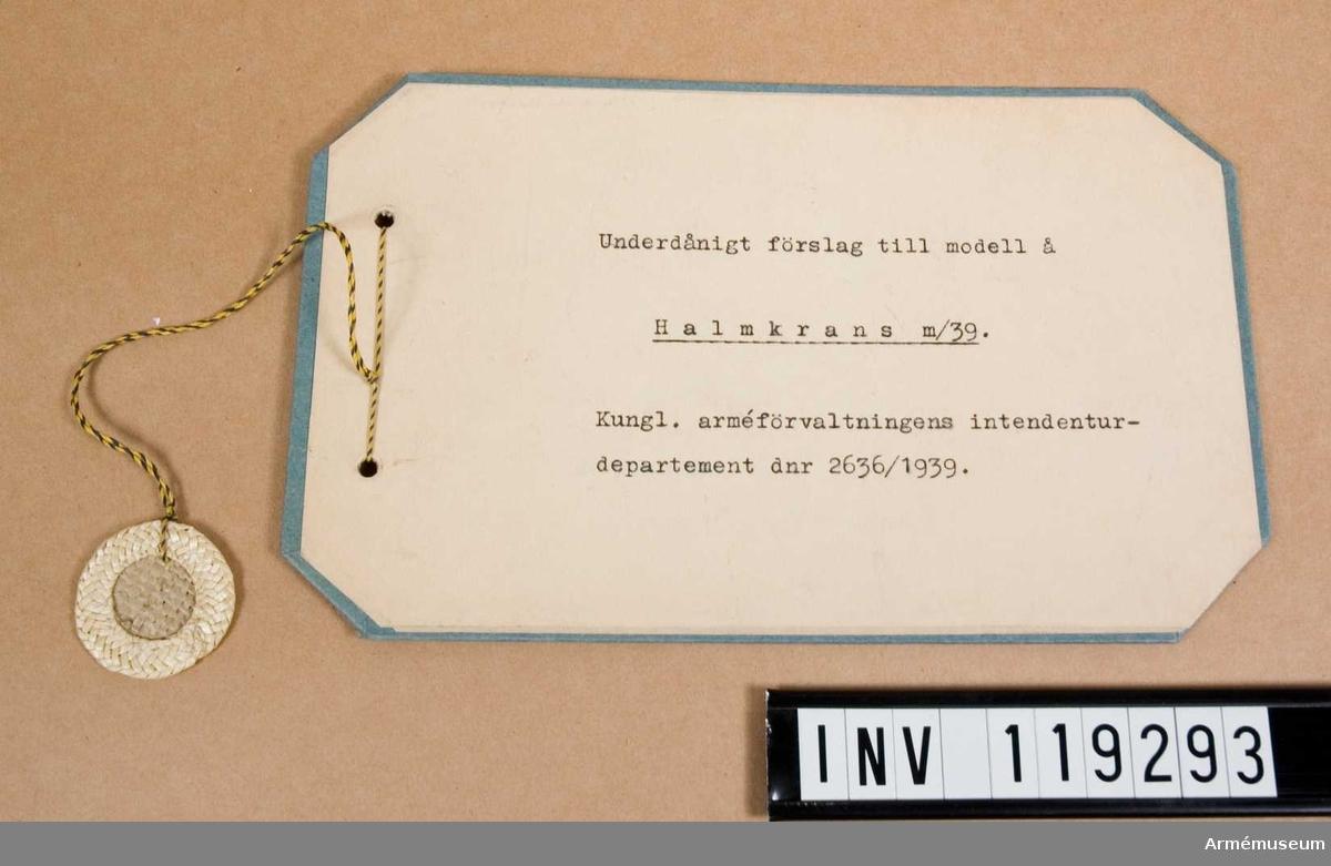 Halmkrans m/1939