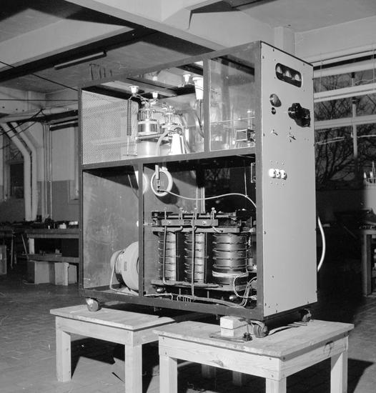 "Text till bilden: ""AB Flodins Industri. 1955"""