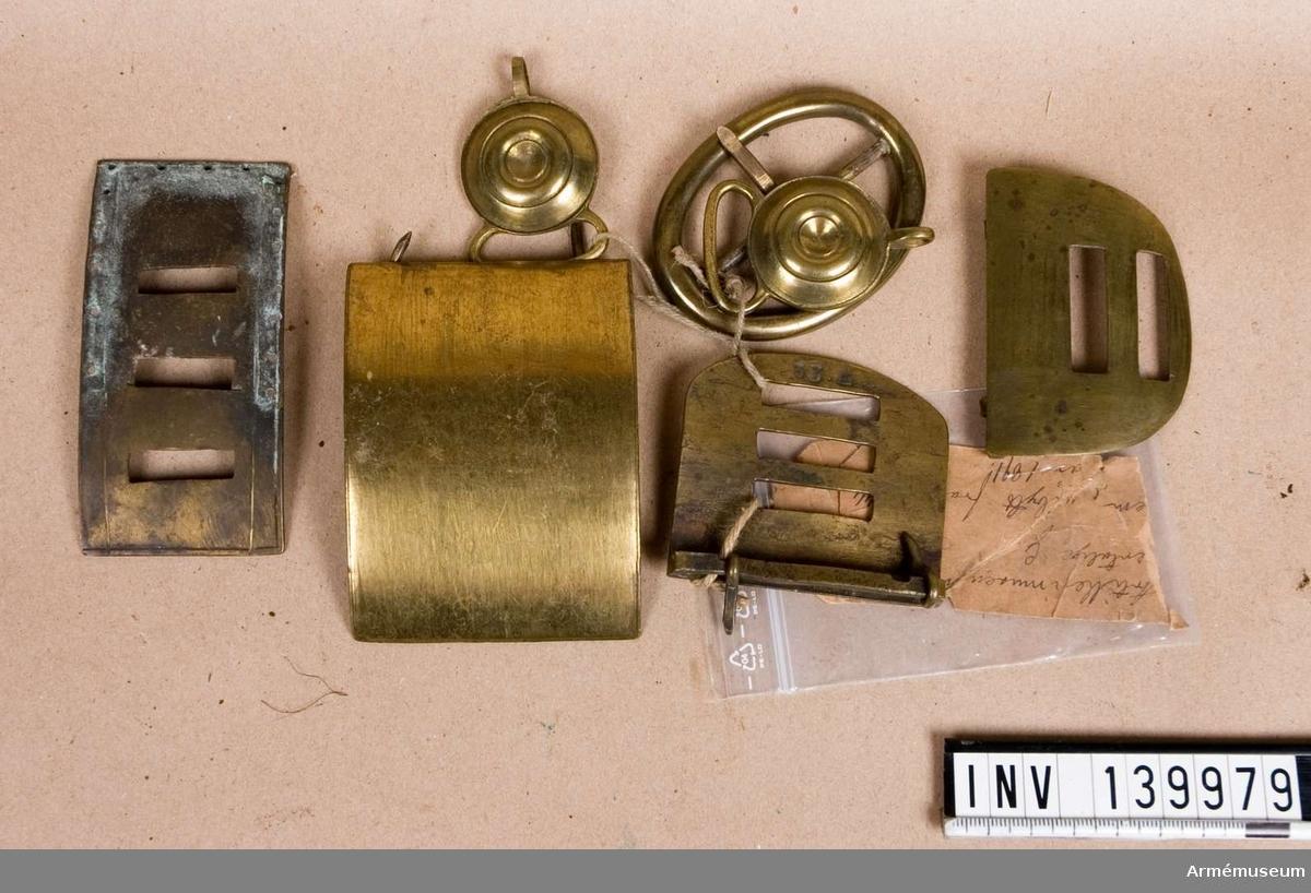 Artillerimuseum Öfertalige G Lifrem, utbytt från No 44 år 1891.