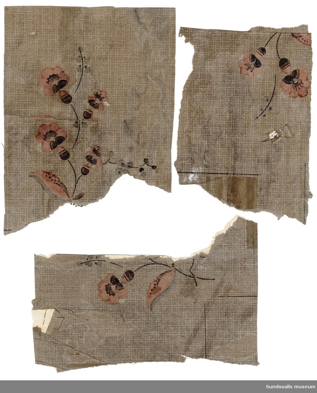 Fragment av tapet