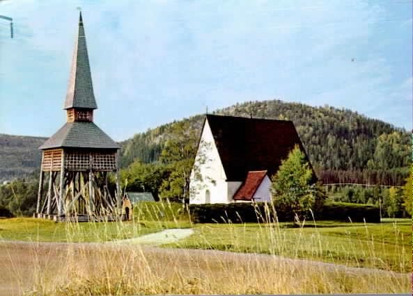 Lidens gamla kyrka, Medelpad.