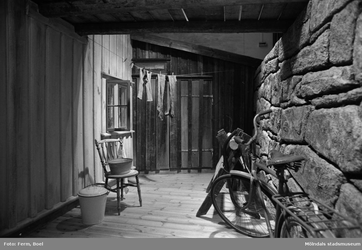 Mölndals museums basutställningar: arbetarhemmet.
