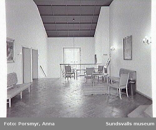 Kv.Hövrätten 2 Sundsvalls Stad och kn.Hovrrätten  innan ombyggnation.
