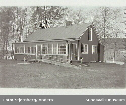 MHF:s sommarhus invid Viiforsen.