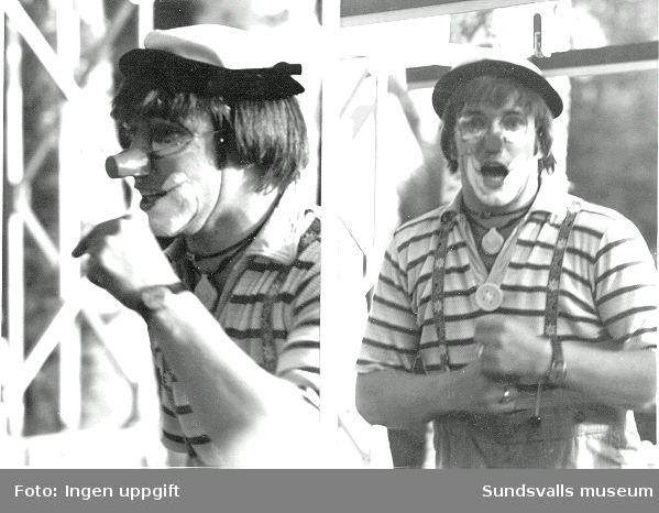 "Clownen Ruben Madsen ""Profilteatern"""