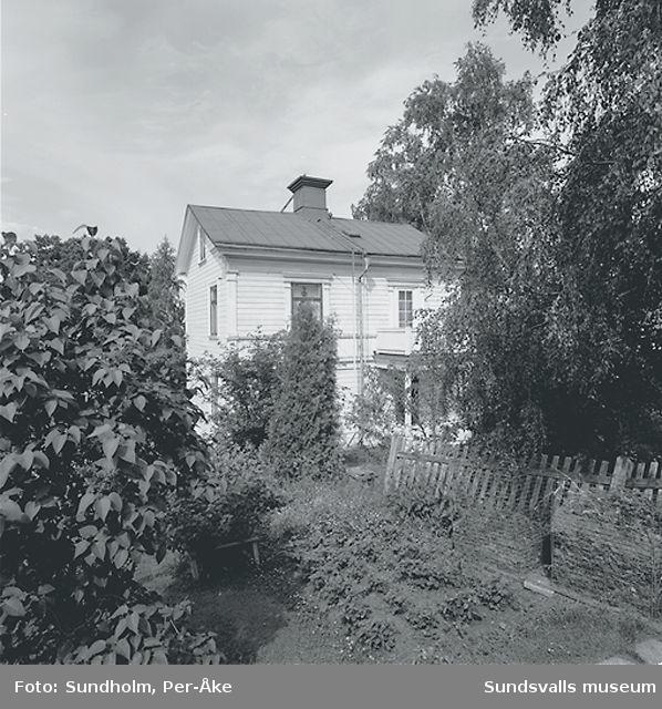 Inventering Stadsmon. Kv Kantaren och Kaparen, Sundsvalls GA förs.1, Kv: Kantaren (6) / Östermalm 1:27,Klintgatan 19, Sundsvalls GA förs.