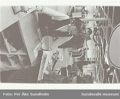 Dokumentation av Varuhuset Forum, Storgatan 28, Sundsvall, inför nedläggningen.