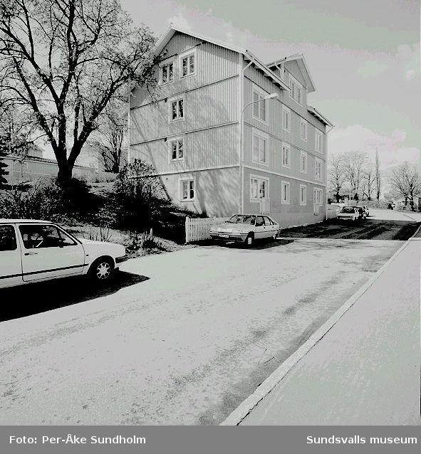 Flerbostadshus och sophus, kv. Enen 11, Södermalmsgatan 45:10 Flerbostadshus12 Sophus